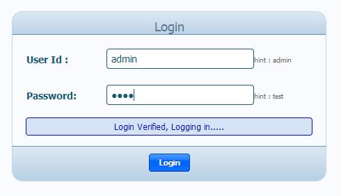 Ajax Login Validation for JSP | Prashant's Blog